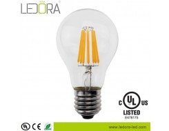 clear 8 watt dimmable a19 led filament light bulb,dimmable a19 led,dimmable a19 led bulb,a19 led filament bulb,a19 led filament edison