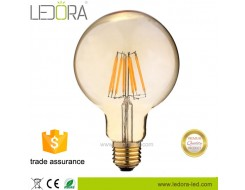 4000k dimmable vintage led filament edison bulb