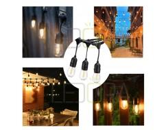 christmas string lights, led christmas string lights, string lights waterproof, outdoor led string lights
