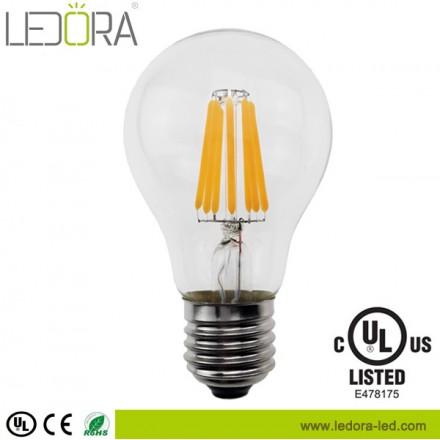 clear 8 watt dimmable a19 led filament light bulb,dimmable a19 led,dimmable a19 led bulb,a19 led filament bulb,a19 led filament edison