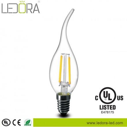 LED filament candle,LED filament candle dimmable,led candle bulb,led filament candle bulb,led filament candle bulb 4w