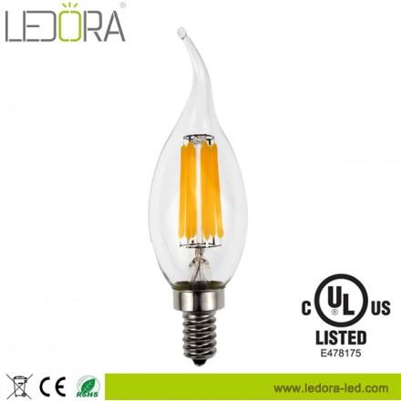 led candle bulb,CA35 led candle bulb,indoor led bulb