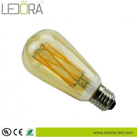 long filament,st64 led filament bulb