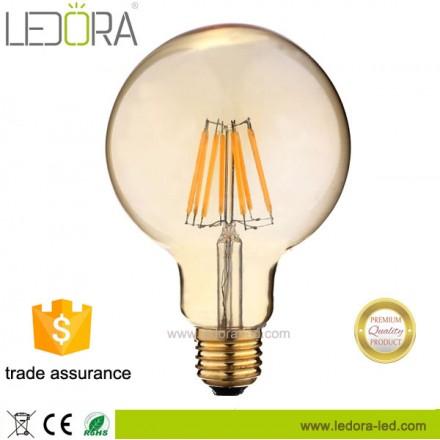 4000k dimmable vintage led filament edison bulb