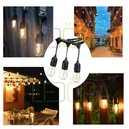 Indoor Outdoor Led Patio String Lights Commercial Outdoor