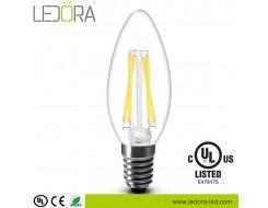 led filament candelabra bulb,led filament candelabra,led filament,6w led filament candelabra