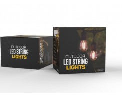 outdoor string lights, led outdoor string lights, 48ft string lights, led string lights kit, commercial string lights