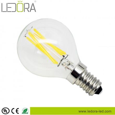 UL 4W P45 LED filament bulb