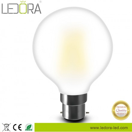 filament lamp G80,dimmable led filament bulb