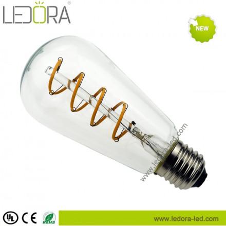 Led Edison bulb,Led filament bulb,led vintage bulb,soft led filament bulb,ST64 led filament bulb