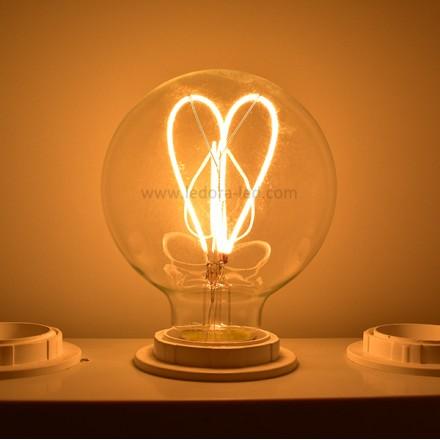 E26 E27 led filament bulb,Edison style led bulb,G80 led filament bulb